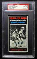 Willis Reed (Jerry West also pictured) [PSA 8 NM‑MT]