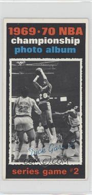 1970-71 Topps - [Base] #169 - 1969-70 NBA Championship (Game 2) [GoodtoVG‑EX]