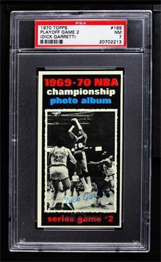 1970-71 Topps - [Base] #169 - Dick Garrett [PSA7NM]