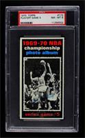 1969-70 NBA Championship (Game 5) [PSA8NM‑MT]
