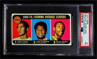 Jerry West, Kareem Abdul-Jabbar, Elvin Hayes [PSA 7 NM]