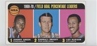 Johnny Green, Darrall Imhoff, Lou Hudson [PoortoFair]