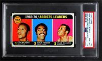 Walt Frazier, Lenny Wilkens, Clem Haskins [PSA8NM‑MT]