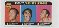 Walt Frazier, Lenny Wilkens, Clem Haskins [Poor]