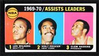 Walt Frazier, Lenny Wilkens, Clem Haskins [NoneGoodtoVG‑…