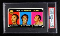 Walt Frazier, Lenny Wilkens, Clem Haskins [PSA6EX‑MT]