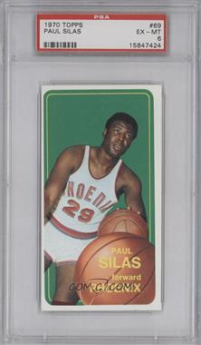 1970-71 Topps - [Base] #69 - Paul Silas [PSA 6 EX‑MT]