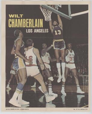 1970-71 Topps - Posters #17 - Wilt Chamberlain