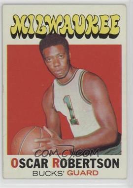 1971-72 Topps - [Base] #1 - Oscar Robertson