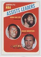 Norm Van Lier, Oscar Robertson, Jerry West