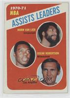Norm Van Lier, Oscar Robertson, Jerry West [Good to VG‑EX]