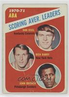 ABA Scoring Aver. Leaders (Dan Issel, Rick Barry, John Brisker) [Poorto&n…