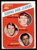 ABA Scoring Aver. Leaders (Dan Issel, Rick Barry, John Brisker) [VGEX]
