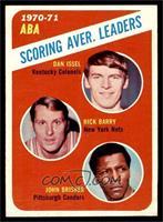 ABA Scoring Aver. Leaders (Dan Issel, Rick Barry, John Brisker) [EX]