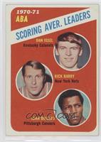 ABA Scoring Aver. Leaders (Dan Issel, Rick Barry, John Brisker) [Goodto&n…