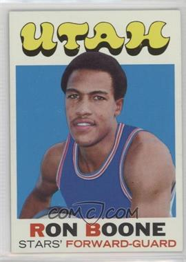 1971-72 Topps - [Base] #178 - Ron Boone