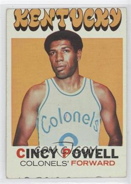 1971-72 Topps - [Base] #207 - Cincy Powell [Good to VG‑EX]