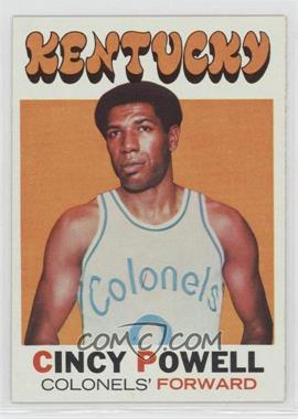 1971-72 Topps - [Base] #207 - Cincy Powell
