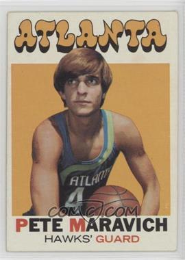 1971-72 Topps - [Base] #55 - Pete Maravich [PoortoFair]