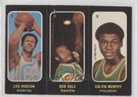 Lou Hudson, Bob Rule, Calvin Murphy