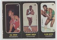 Hal Greer, Johnny Green, Elvin Hayes [Good to VG‑EX]