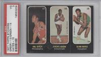 Hal Greer, Johnny Green, Elvin Hayes [PSA 3]