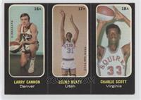 Larry Cannon, Zelmo Beaty, Charlie Scott [GoodtoVG‑EX]
