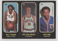 Walt Frazier, Dick Van Arsdale, Dave Bing [GoodtoVG‑EX]