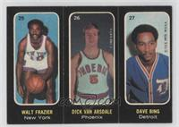 Walt Frazier, Dick Van Arsdale, Dave Bing