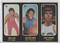 Bob Love, Ron Williams, Dave Cowens