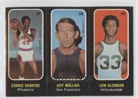 Connie Hawkins, Jeff Mullins, Lew Alcindor