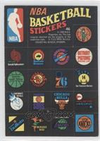 NBA Team Logos [Good to VG‑EX]