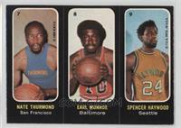 Nate Thurmond, Earl Monroe, Spencer Haywood