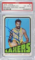 Wilt Chamberlain [PSA/DNA Certified Encased]