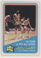 Jerry West (Wilt Chamberlain Visible in Photo) [Good to VG‑EX]