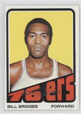 1972-73 Topps - [Base] #17 - Bill Bridges