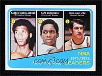 Kareem Abdul-Jabbar, Tiny Archibald, John Havlicek