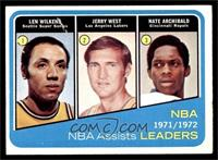 Lenny Wilkens, Jerry West, Nate Archibald [GOOD]