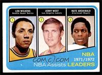 Lenny Wilkens, Jerry West, Nate Archibald [VG]