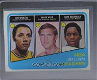 Lenny Wilkens, Jerry West, Nate Archibald [NearMint]