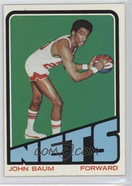 1972-73 Topps - [Base] #191 - Johnny Baum