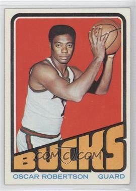 1972-73 Topps - [Base] #25 - Oscar Robertson