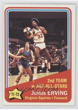 1972-73 Topps - [Base] #255 - Julius Erving