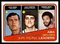 Glen Combs, Louie Dampier, Warren Jabali [NM]