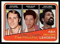 Rick Barry, Mack Calvin, Steve Jones [EX MT]
