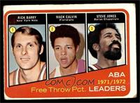 Rick Barry, Mack Calvin, Steve Jones [GOOD]
