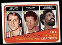 Rick Barry, Mack Calvin, Steve Jones [NM]