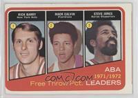 Rick Barry, Mack Calvin, Steve Jones [PoortoFair]