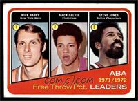 Rick Barry, Mack Calvin, Steve Jones [VG EX]