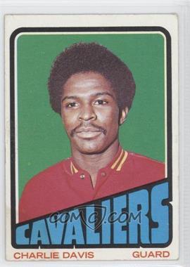 1972-73 Topps - [Base] #27 - Charlie Davis [GoodtoVG‑EX]